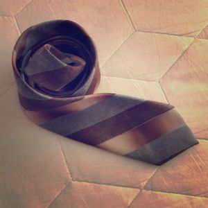 Vintage Striped Tie